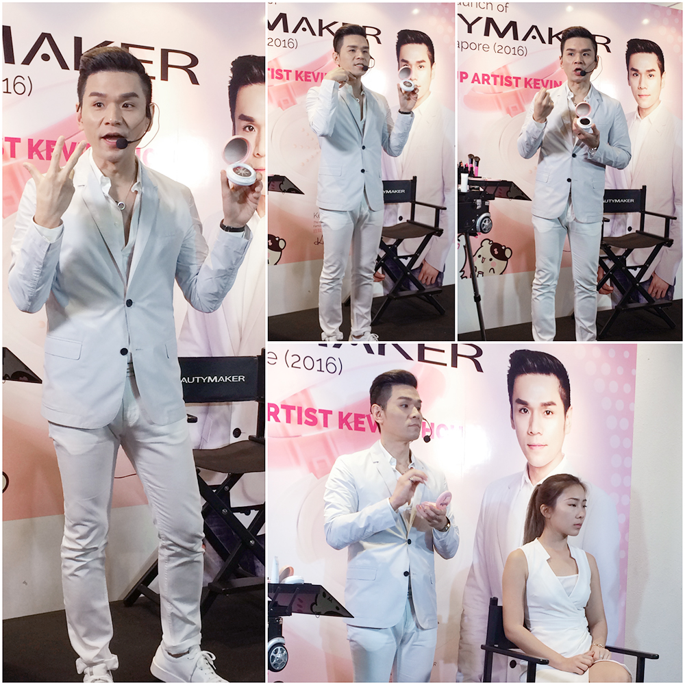 Kevin 老师 at BeautyMaker Event