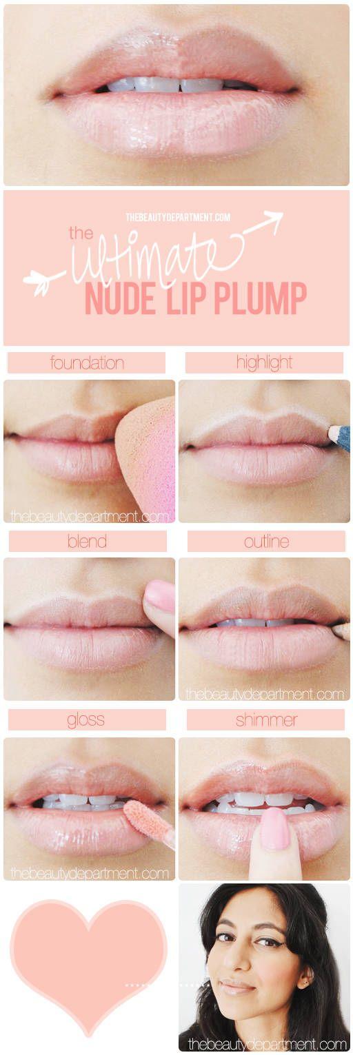 Nude Lips Tutorial