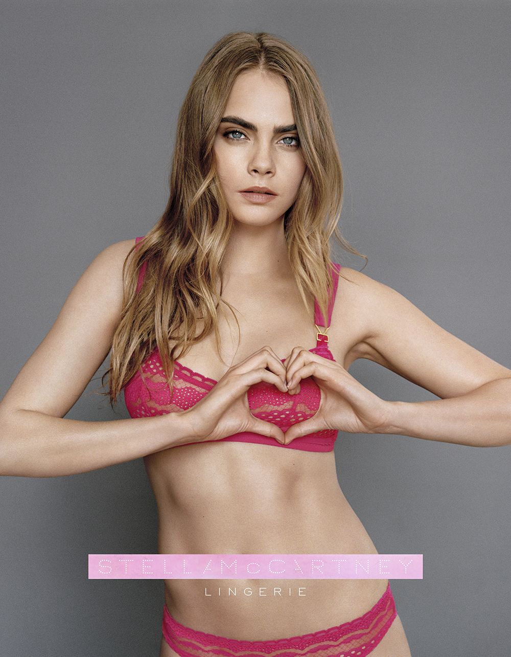 Stella McCartney Breast Cancer Awareness Lingerie