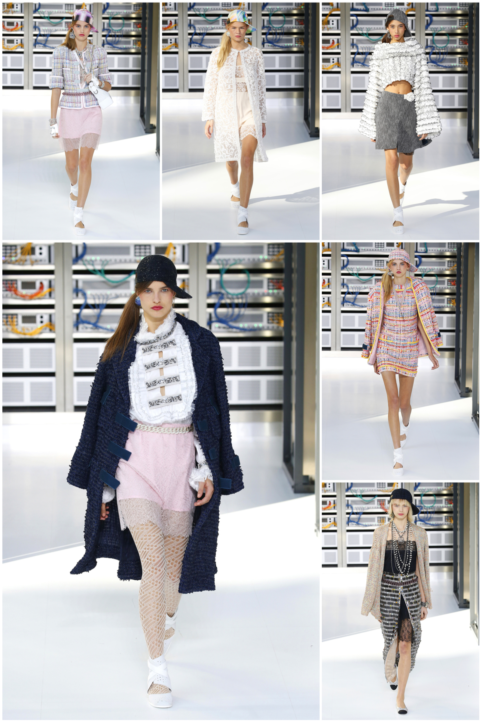 Chanel SS 2017 on The Skinny Scout