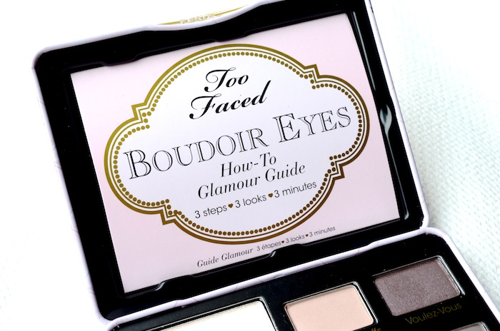 Too Faced Boudoir Eyes Soft & Sexy Eye Shadow Collection.