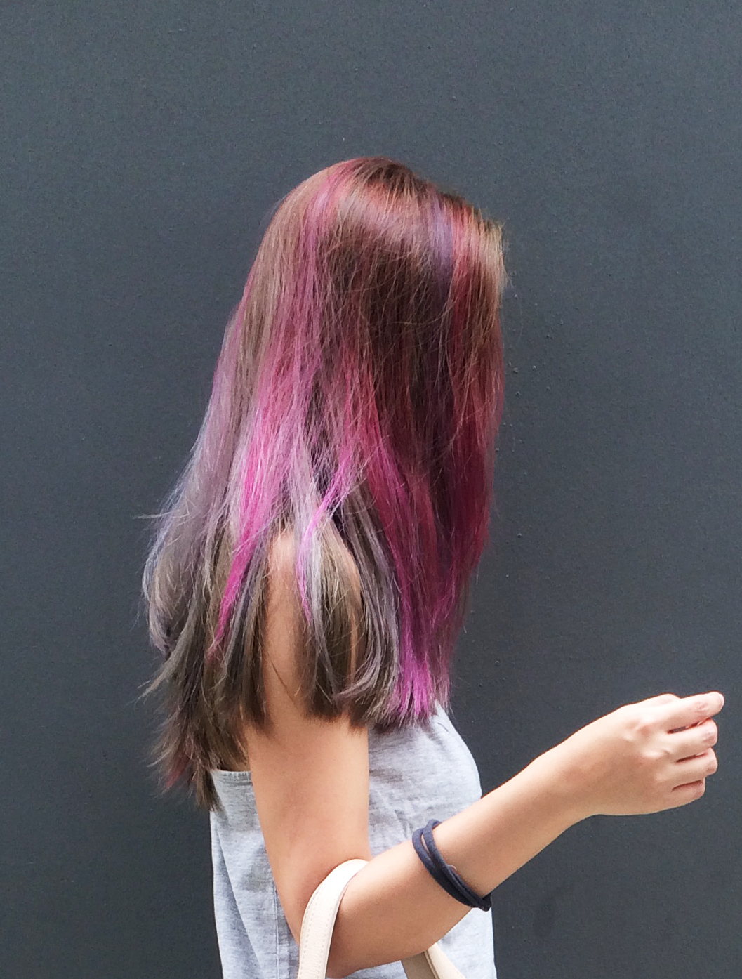 Purple Hair - The Skinny Scout