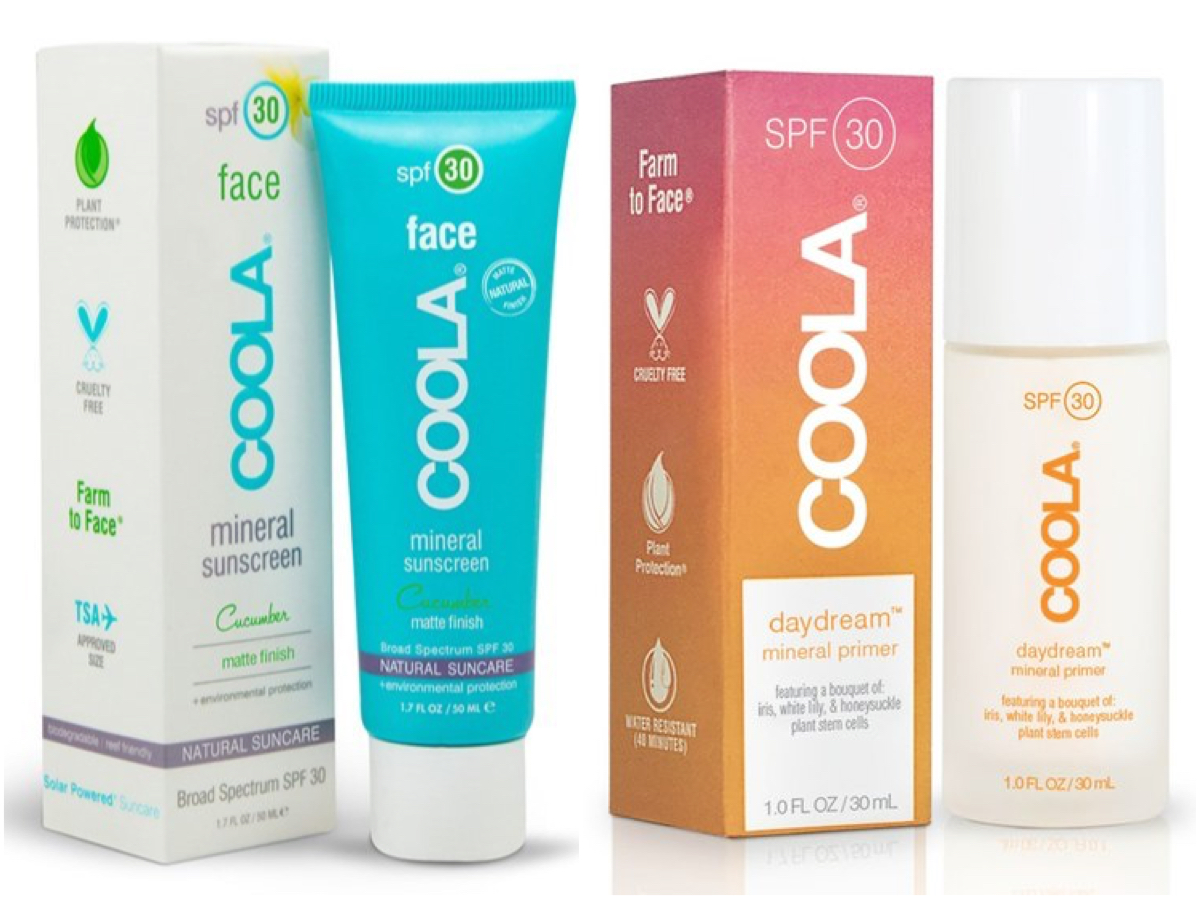 Coola Face SPF 30 Cucumber Matte Finish