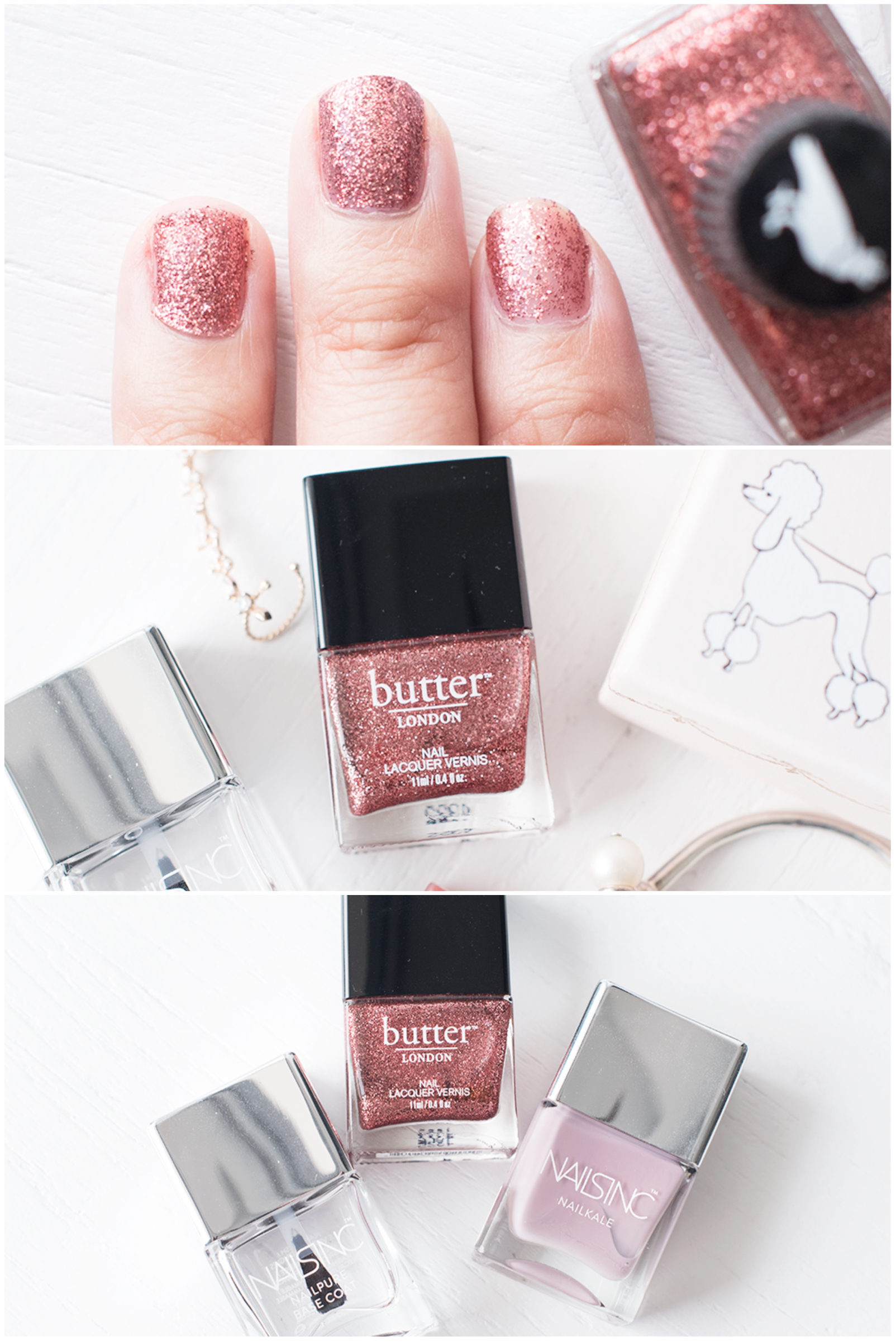 Butter London Rosie Lee Rose Gold Nail Polish