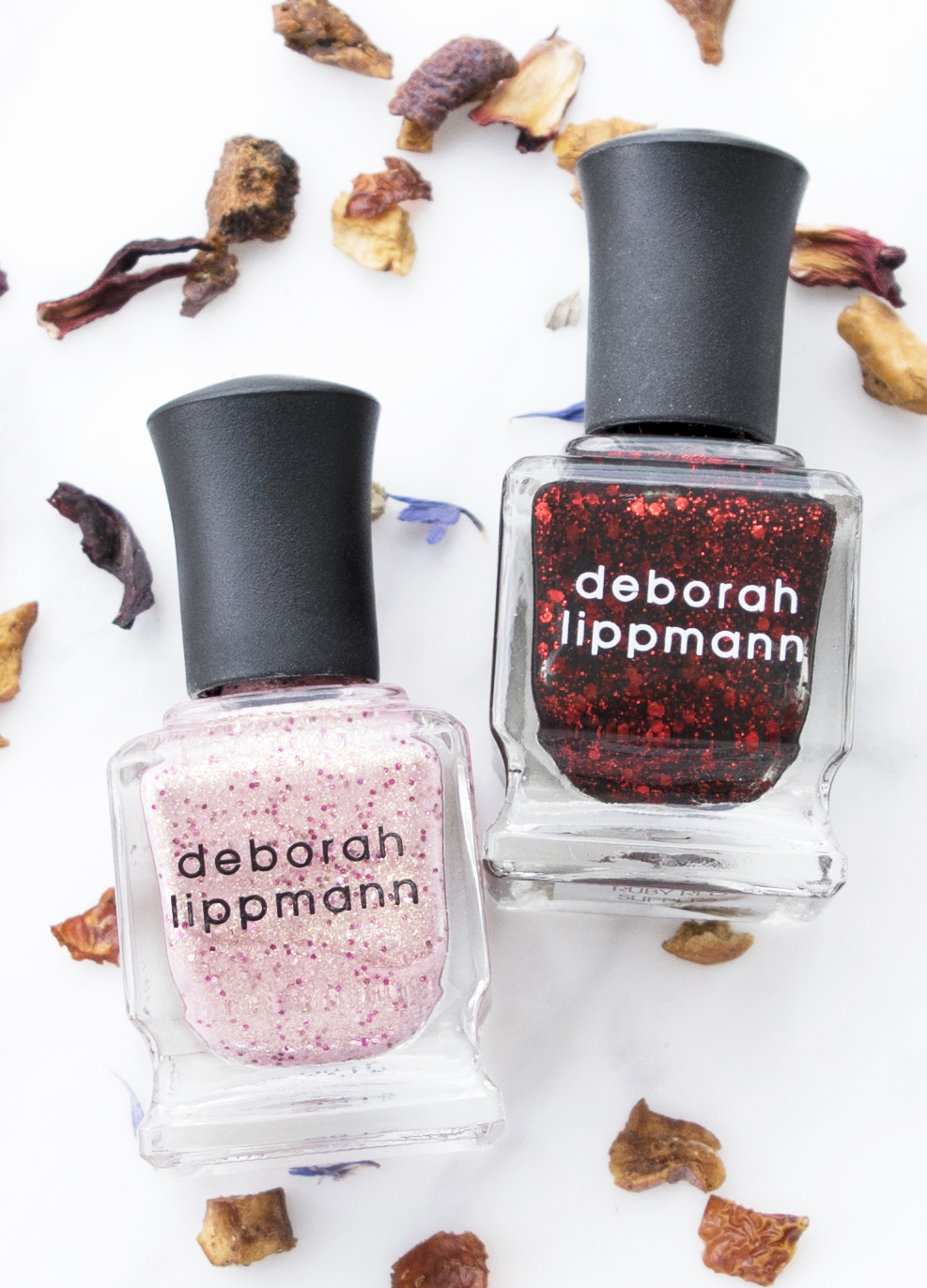 Deborah Lippmann Mermaid's Kiss Nail Polish with Ruby Red Slippers