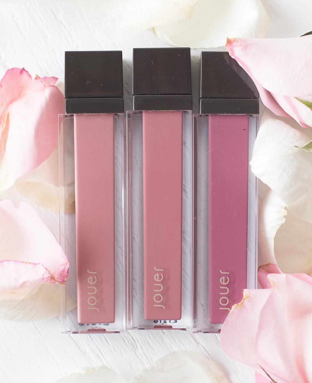 Jouer Cosmetics Long Wear Lip Creme Liquid Lipstick Trio