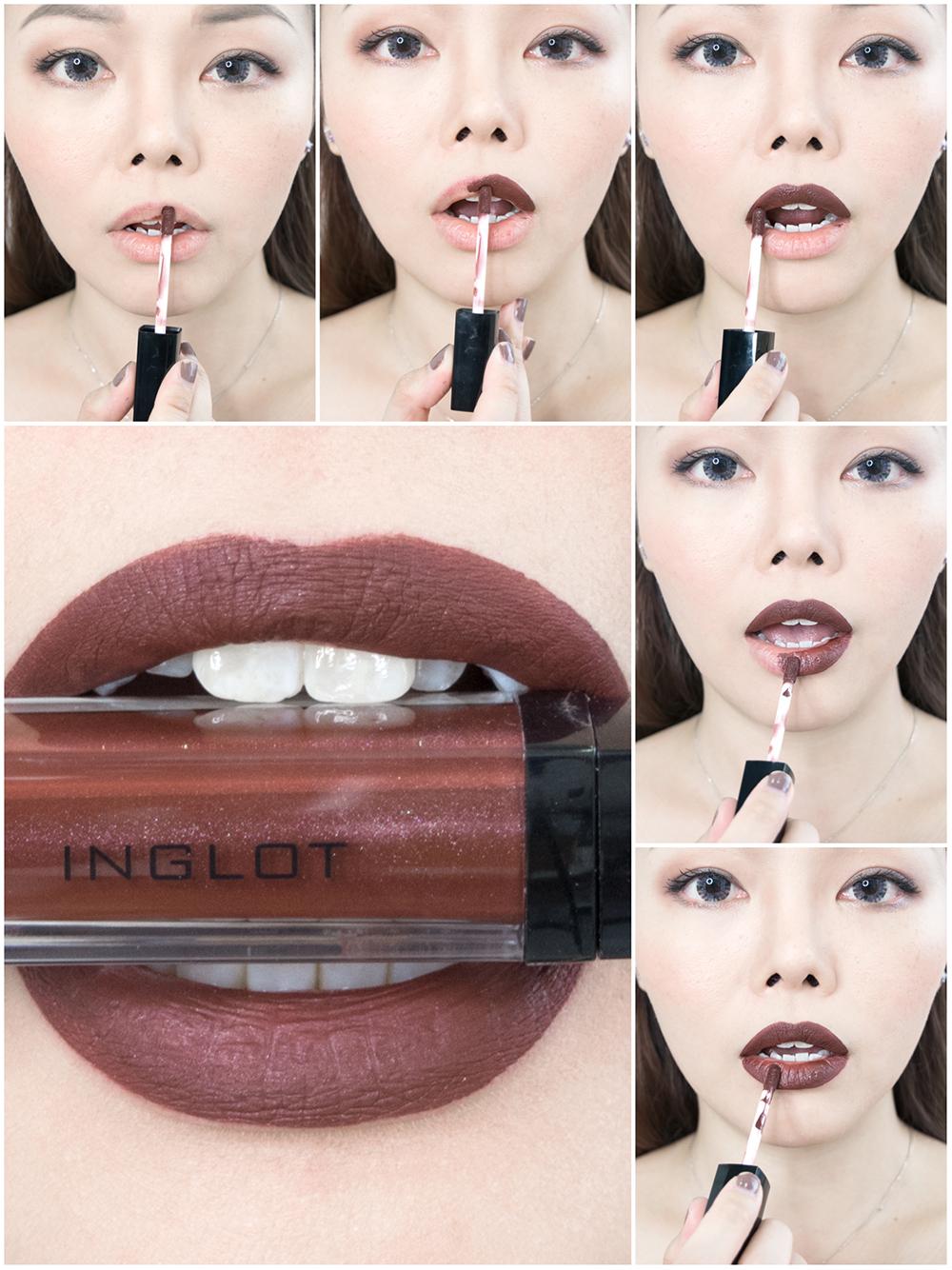 Inglot HD Lip Tint Matte in Shade 18