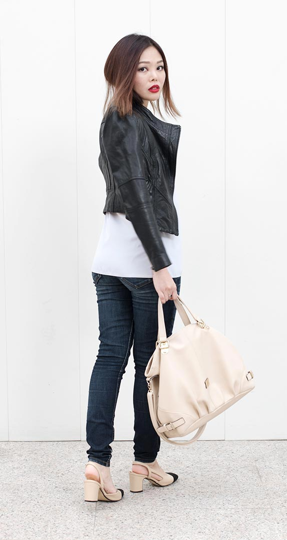 How to Wear a Leather Jacket by The Skinny Scout