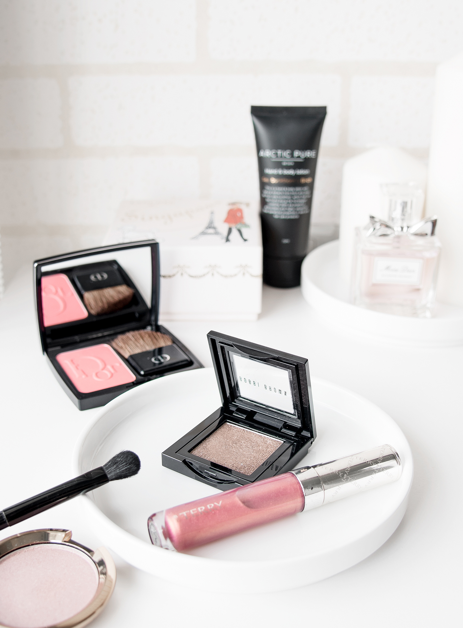 Makeup Basics Bobbi Brown and By Terry via The Skinny Scout