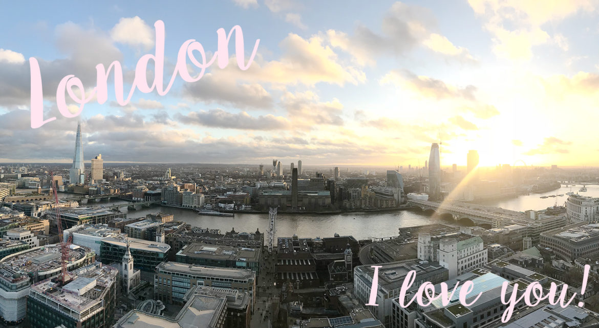 London Skyline via The Skinny Scout