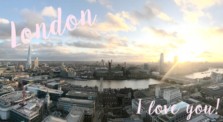 London Skyline via The Skinny Scout