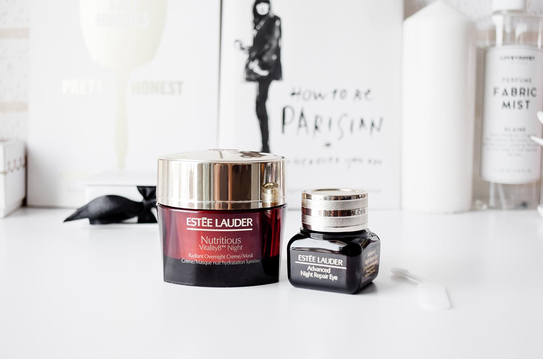 Estee Lauder Nutritious Vitality8 and Estee Lauder Advanced Night Repair Eye