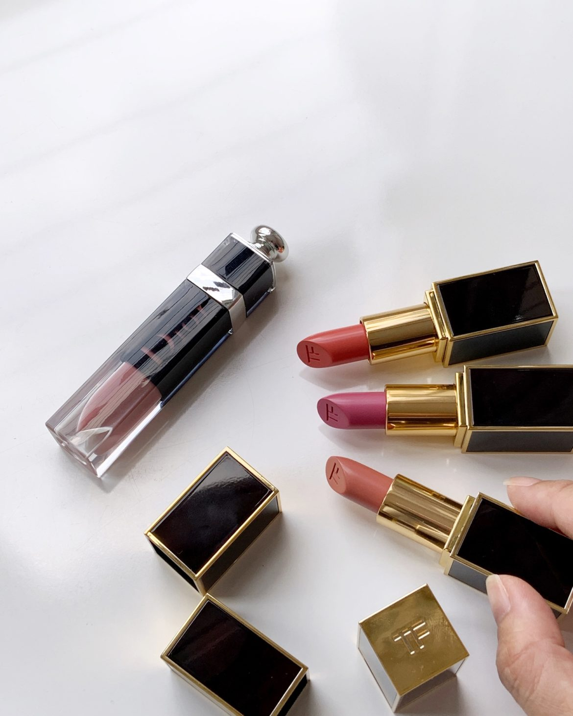 Tom Ford Lip Colours & Dior Addict Lacquer Plump Haul