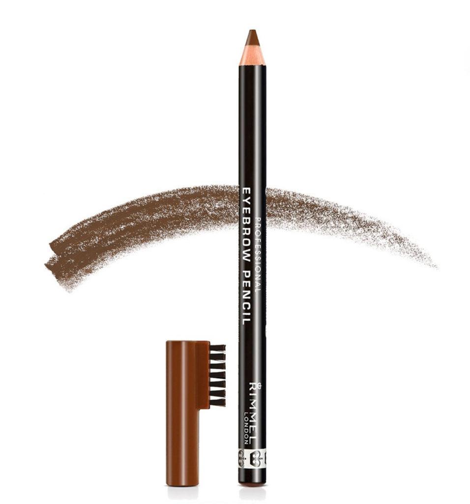 Soft Girl Makeup Using Rimmel Brow Pencil