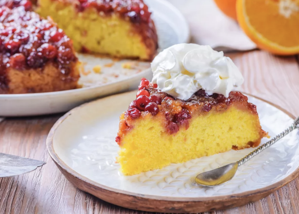 Blogmas 2020 Day 7 of 12 Christmas Feast Ideas Cranberry Upside Down Cake