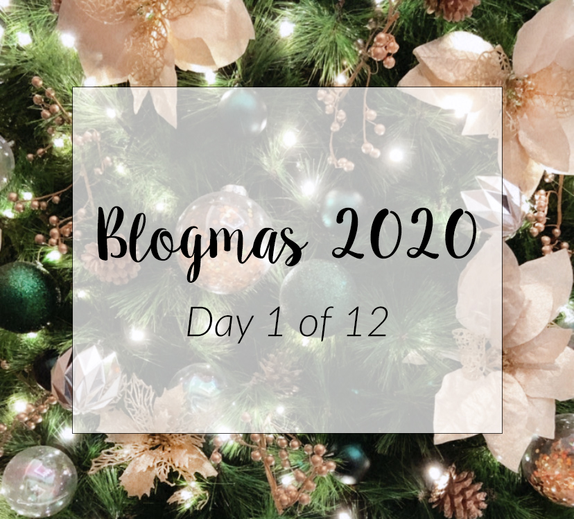 Blogmas 2020 Day 1 of 12