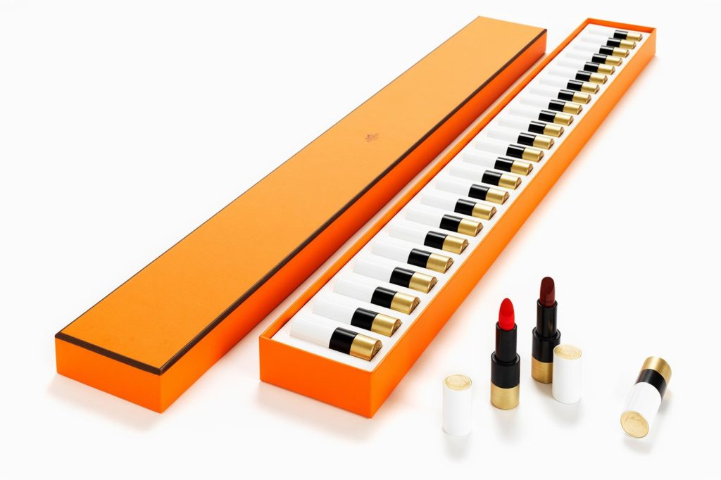 HERMES ROUGE HERMES LIMITED EDITION 24-COLOUR LIPSTICK PIANO SET 2020